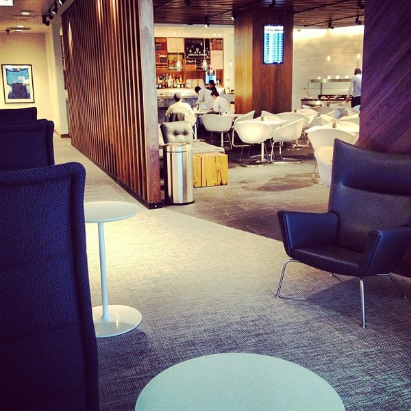 Photo taken at The Centurion Lounge by American Express by Deepica M. on 3/3/2013