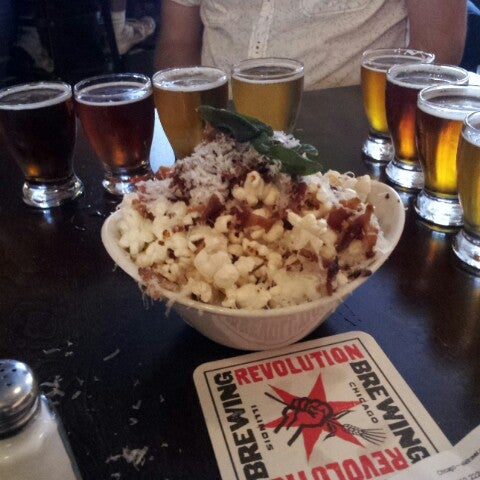 Photo taken at Revolution Brewing by Andrew P. on 7/22/2013