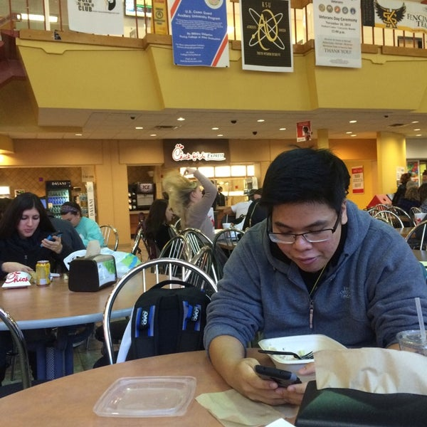 Photo taken at Carmichael Student Center by Aziz A. on 11/3/2014
