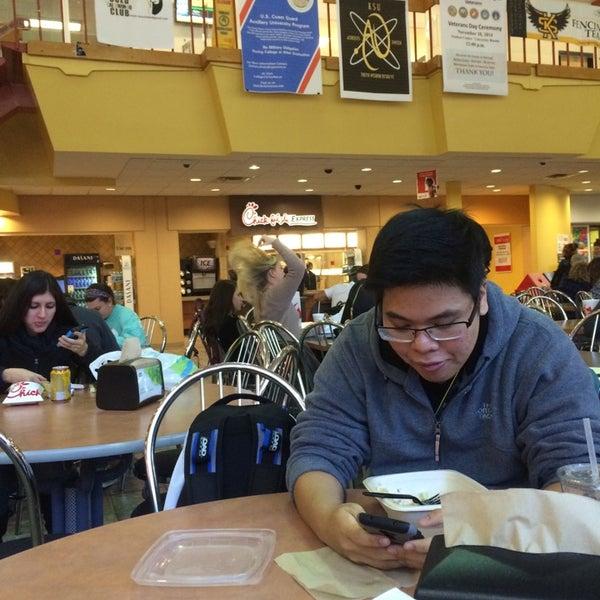 Photo taken at Carmichael Student Center by Abdulaziz A. on 11/3/2014