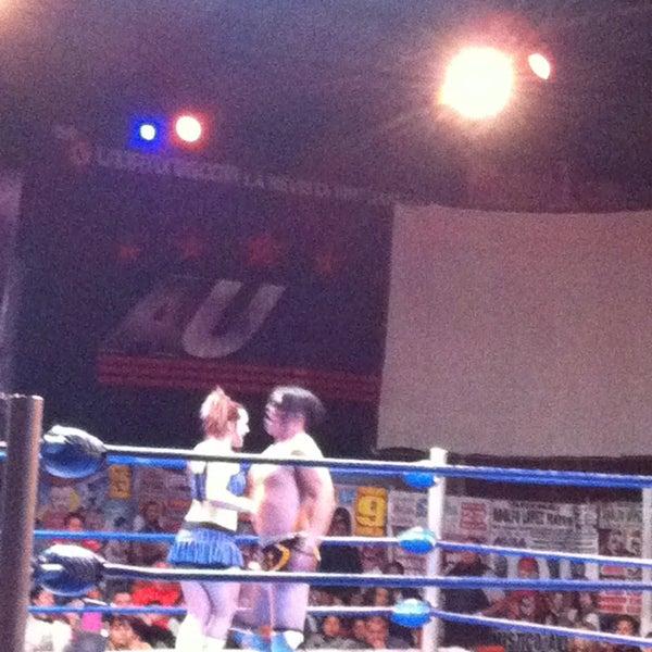 Photo taken at Arena Adolfo Lopez Mateos by Greco S. on 2/17/2013