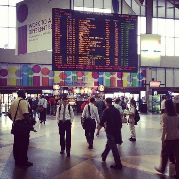 Photo taken at MBTA South Station by Jim on 6/1/2012