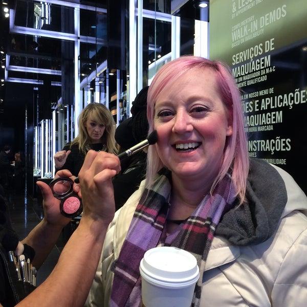 Photo taken at MAC Cosmetics by aмanda~ on 1/9/2015