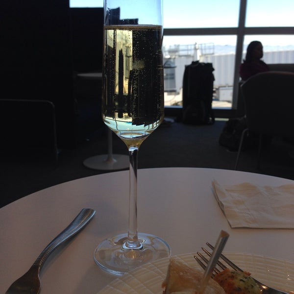 Photo taken at The Centurion Lounge by American Express by Louise L. on 1/1/2014
