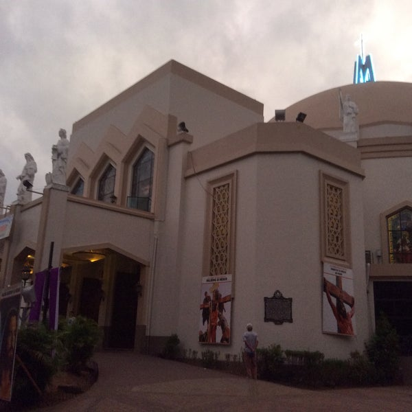 Photo taken at National Shrine of Our Lady of Peace and Good Voyage (Antipolo Cathedral) by Gina A. on 3/20/2015