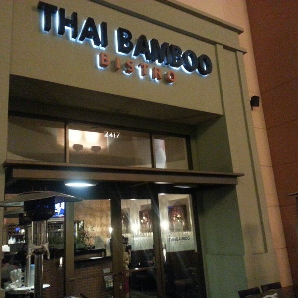 Photo taken at Thai Bamboo Bistro by Senthilkumar D. on 1/11/2014