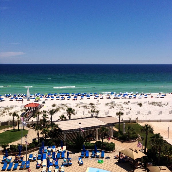 Photo taken at Hilton Pensacola Beach by Jef T. on 5/25/2013