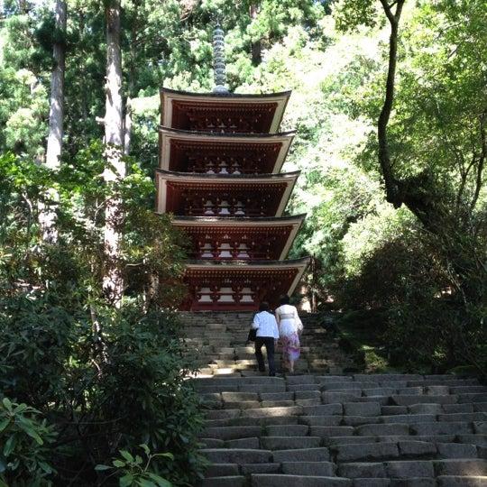 Photo taken at 室生寺 by Yasushi U. on 9/16/2012
