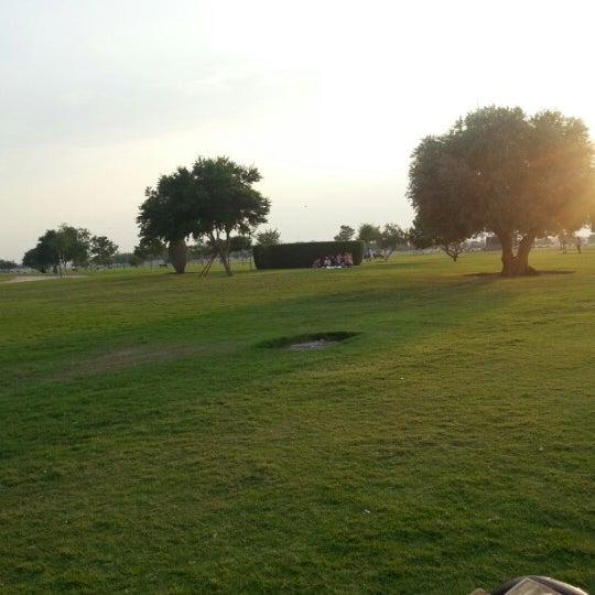 Photo taken at Aspire Park | حديقة اسباير by Ali H I. on 11/3/2012