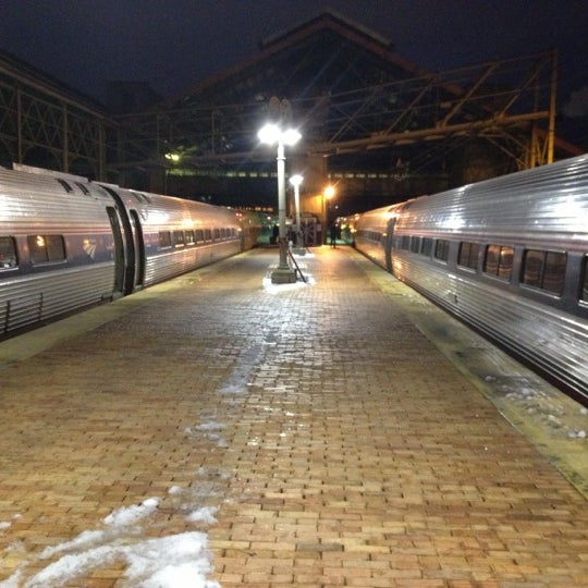 Photo taken at Amtrak: Harrisburg Transportation Center (HAR) by Mike W. on 12/27/2012