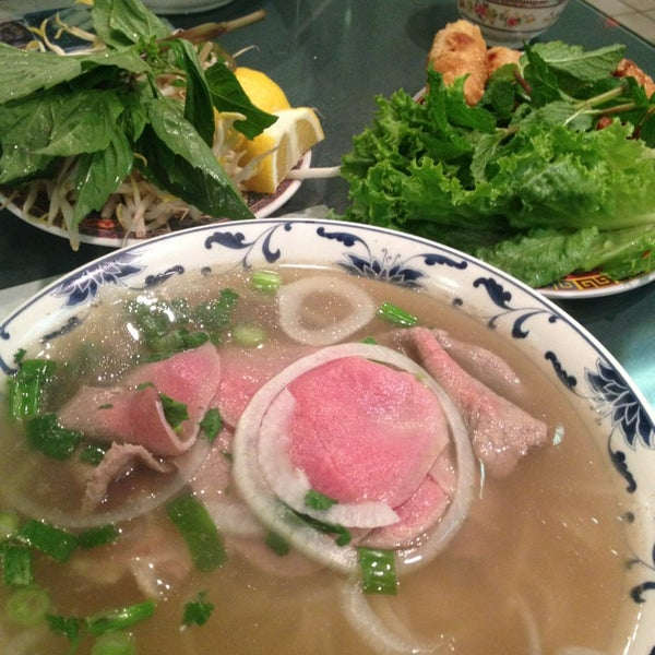 Photo taken at Pho Bac by Zoltan V. on 7/1/2013