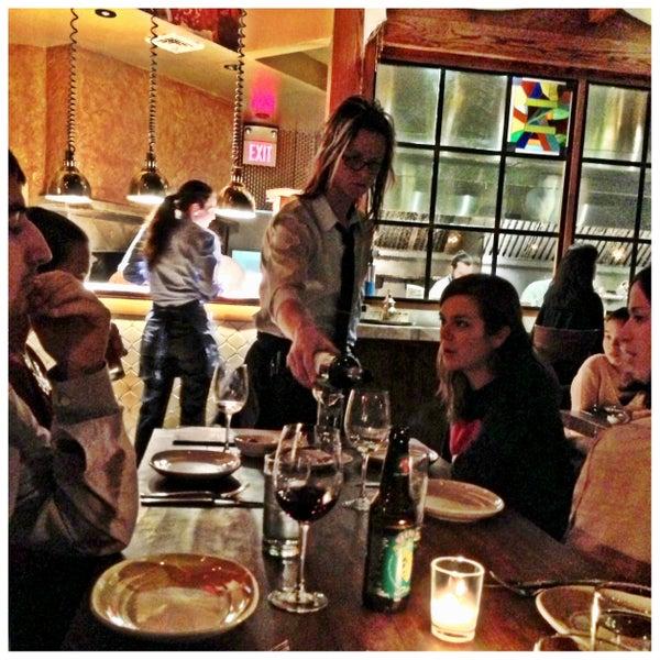 Photo taken at Zahav by Visit Philly on 11/17/2012