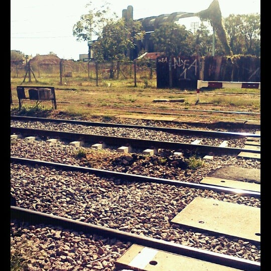 Photo taken at Estación Caballito [Línea Sarmiento] by Verónica on 4/14/2013