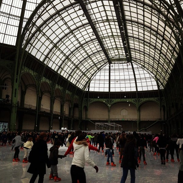 Photo taken at Grand Palais by Maria T. on 12/23/2012