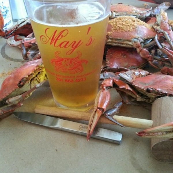 Photo taken at May's Crab & Seafood by Fuzzy on 8/17/2014