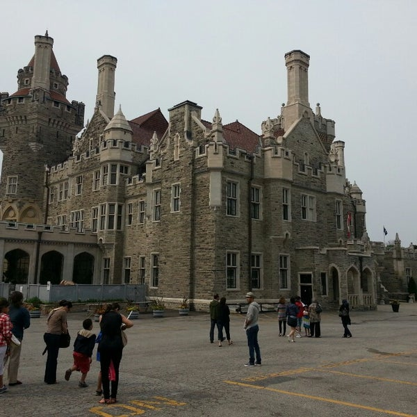 Photo taken at Casa Loma by Daniel H. on 7/1/2013