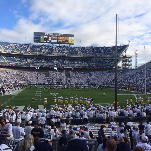 Photo taken at Beaver Stadium by David E. on 10/12/2013