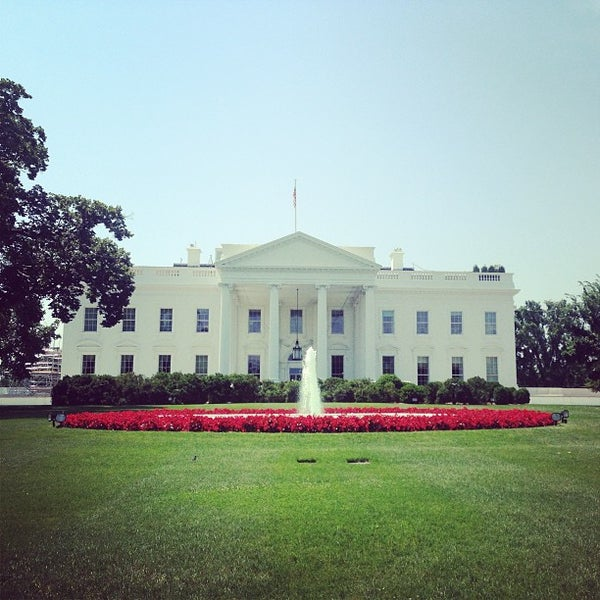 Photo taken at The White House by Kristin M. on 6/26/2013