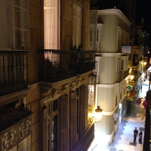Photo taken at Room Mate Larios Hotel by Maxi A. on 10/1/2013