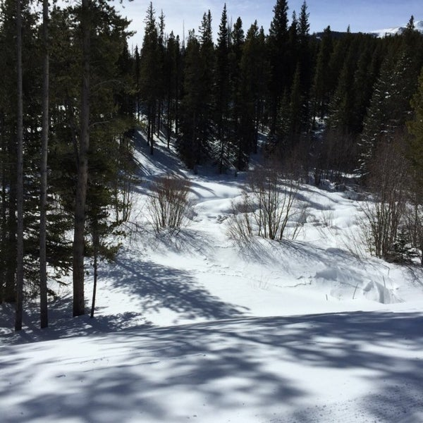 Photo taken at The Maggie at Peak 9 Base by Susanna R. on 2/6/2015
