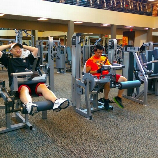 Photo taken at LA Fitness by Maria C. on 7/27/2015