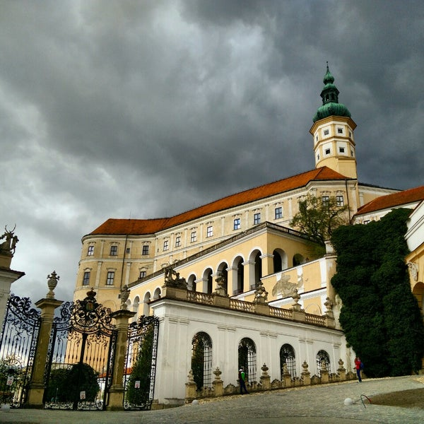Photo taken at Zámek Mikulov by vojta66 on 4/19/2015