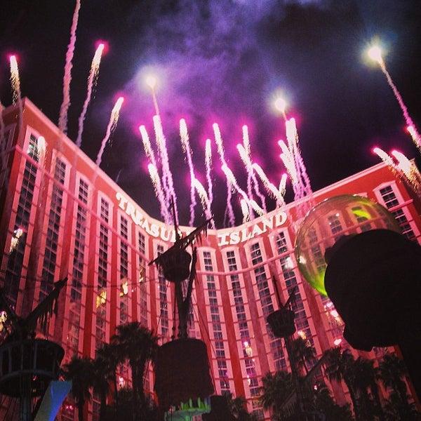 Photo taken at Treasure Island - TI Hotel & Casino by Heidi Kim on 3/29/2013