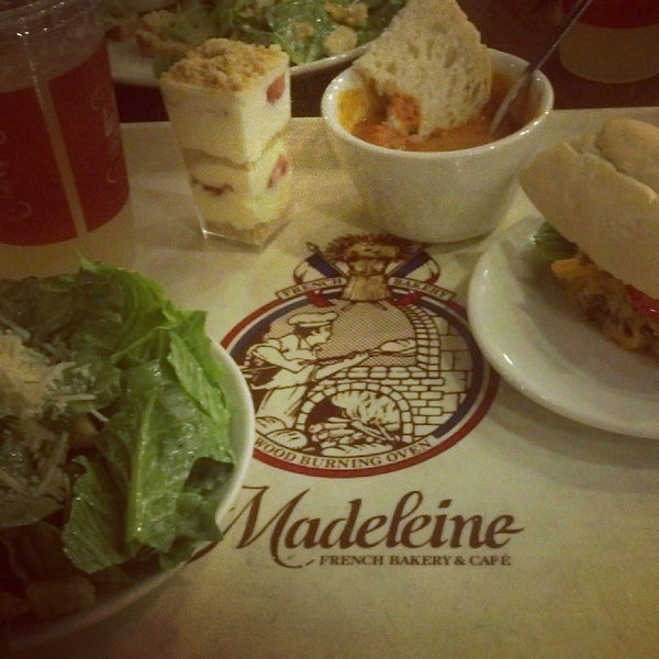 Photo taken at La Madeleine Country French Café by Joseph C. on 10/20/2013