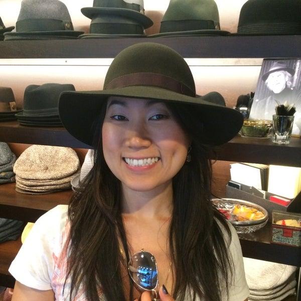 Photo taken at Goorin Bros. Hat Shop by John M. on 9/14/2014
