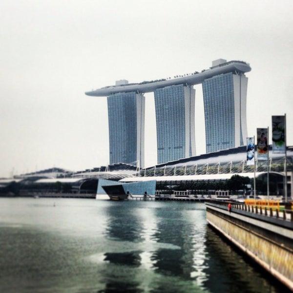 Photo taken at Marina Bay Sands Casino by Jarad K. on 6/16/2013