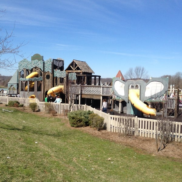 Photo taken at Annie's Playground by Timothy E. on 4/6/2014