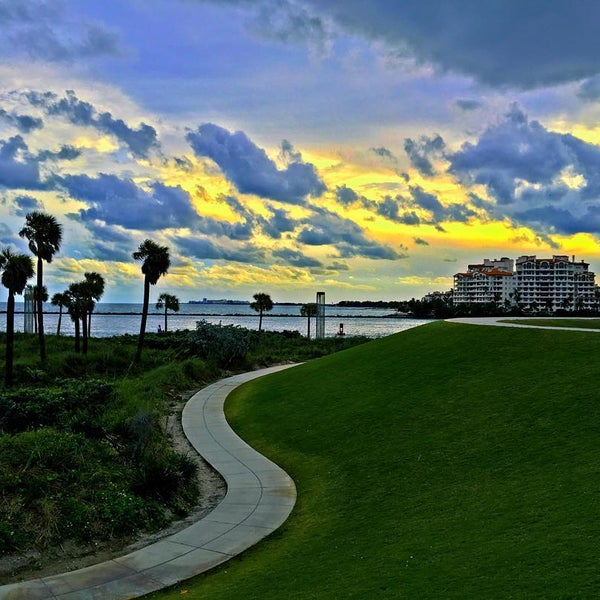 Photo taken at South Pointe Pier by Fabio S. on 1/29/2016
