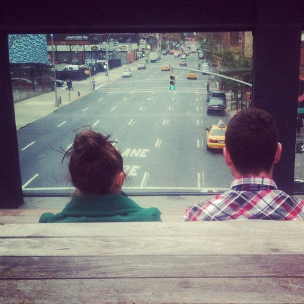 Photo taken at High Line 10th Ave Amphitheatre by Funky R. on 10/28/2012