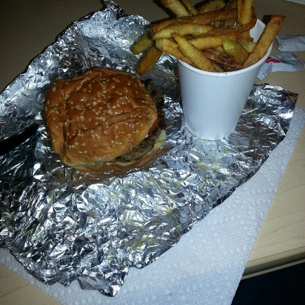 Photo taken at Five Guys by Mildred Q. on 2/13/2013