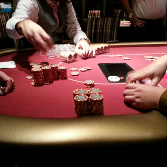Photo taken at Aria Poker Room by Kela M. on 11/16/2012