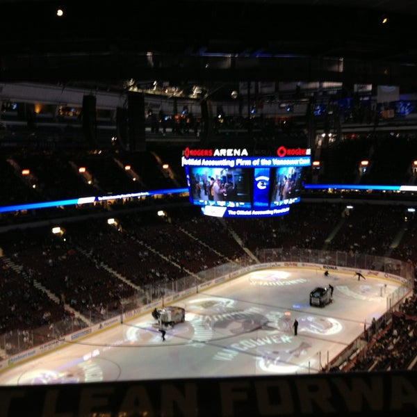 Photo taken at Rogers Arena by Jen B. on 2/18/2013
