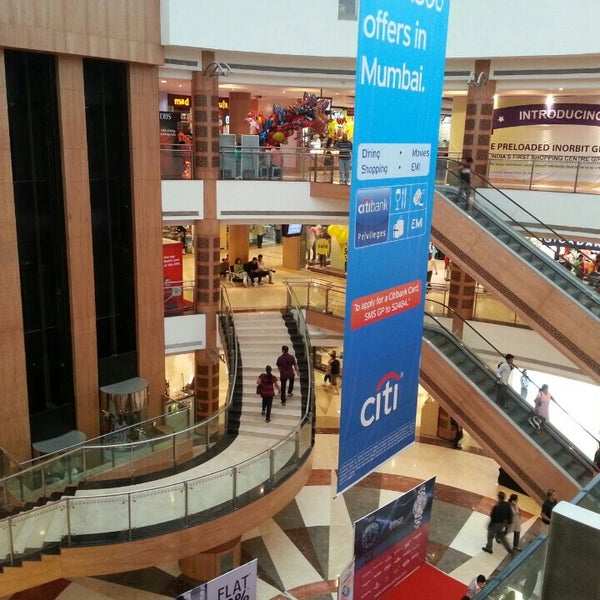 Photo taken at Inorbit Mall by Jax C. on 7/28/2013