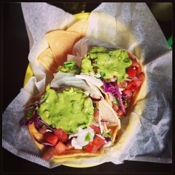 Photo taken at Nick's Crispy Tacos by Susie D. on 7/28/2013