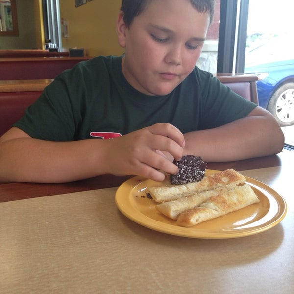 Photo taken at Cicis by Nicole B. on 7/20/2014