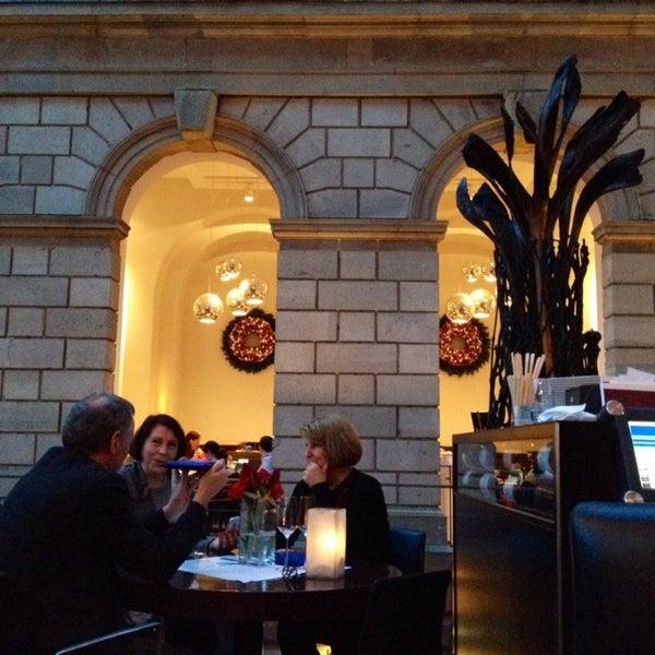 Photo taken at Holbein's Café-Restaurant by José L. on 12/26/2013