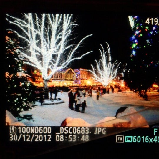 Photo taken at Town of Leavenworth by Sandy W. on 1/1/2013