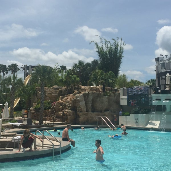 Photo taken at Marriott World Center Pool by Bella E. on 5/18/2016