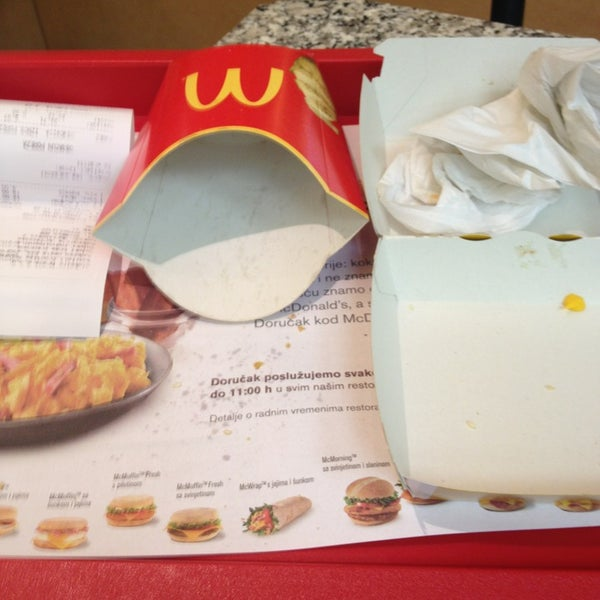 Photo taken at McDonald's by Alen G. on 2/1/2013