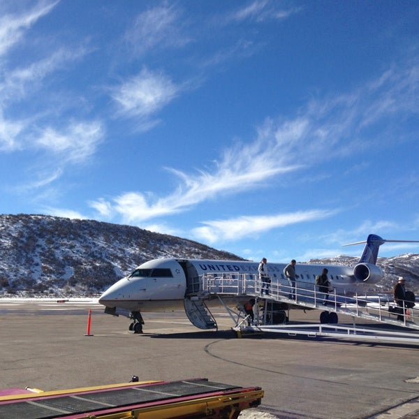 Photo taken at Aspen - Pitkin County Airport (ASE) by Tom W. on 1/17/2013