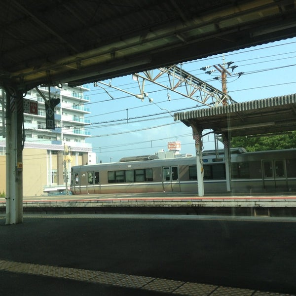 Photo taken at Ōtsu Station by Crystal C. on 9/12/2013