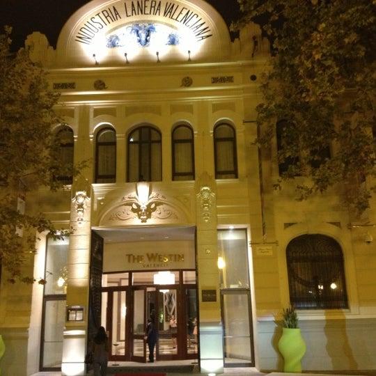 Photo taken at The Westin Valencia by Sergey S. on 10/14/2012
