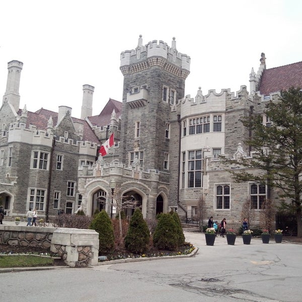 Photo taken at Casa Loma by Agata S. on 4/26/2014