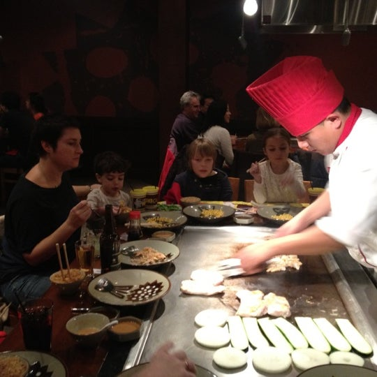 Photo taken at Benihana by Doug F. on 12/29/2012
