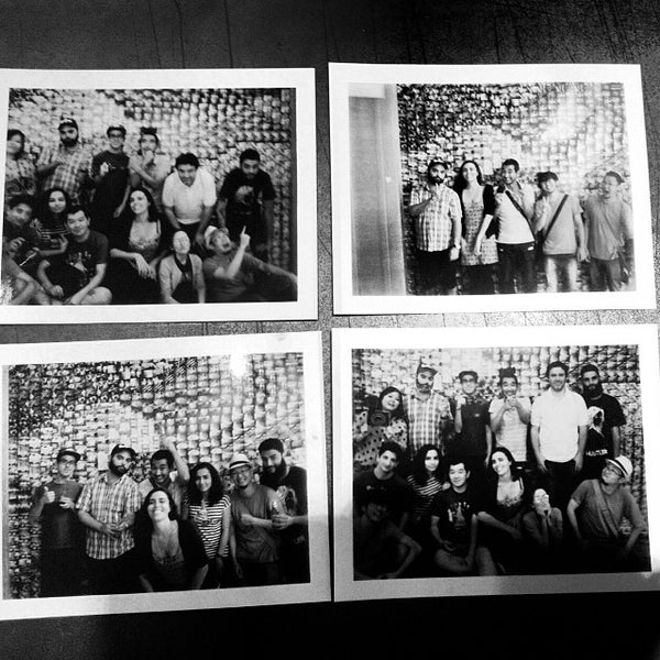 Photo taken at Lomography Gallery Store by Thailiny C. on 12/22/2013