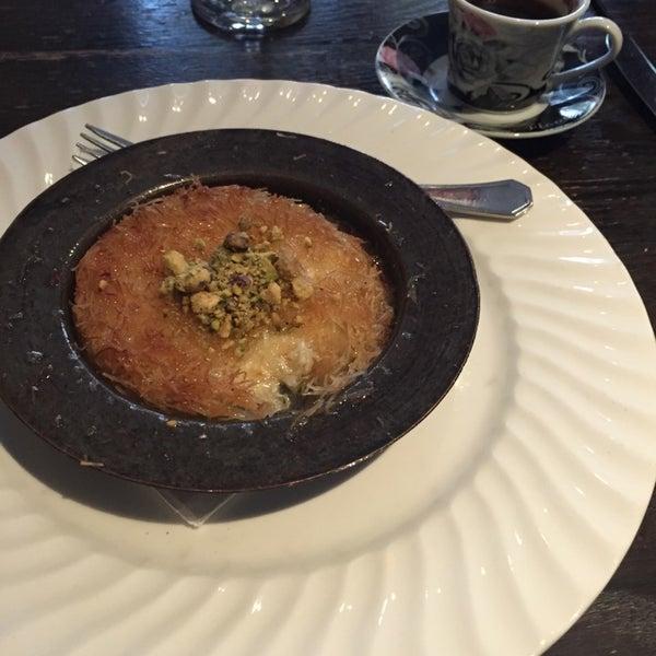 Photo taken at Hanci Turkish Cuisine by Gal O. on 10/18/2014